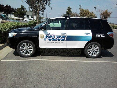 Toyota Kluger Police Strobes Kit for Headlamps Headlights Head Lamps Strobe Lights Kit