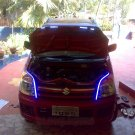 Suzuki Wagon R R+ Solio LED DRL Strip Day Time Running Lights for Headlamps Headlights Head Lamps
