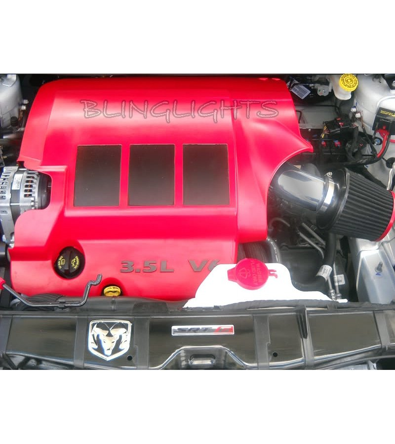 2009-2012 Dodge Journey 3.5L V6 Performance Air Intake Kit Motor V6 Engine SE SXT R/T RT AWD