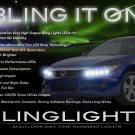 Honda Accord LED DRL Head Light Strips Day Time Running Lamp Kit