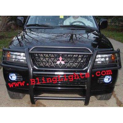 2001 2002 2003 2004 Mitsubishi Montero Sport Xenon Foglamps Foglights Fog Lamps Driving Lights Kit