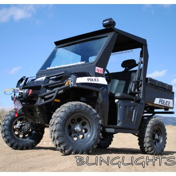 Polaris Ranger Police Strobe Light Kit for Headlamps Headlights Head Lamps Lights Strobes