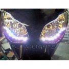 Honda CBR400RR LED DRL Light Strips Headlamps Headlights Head Lamps Day Time Running Strip Lights