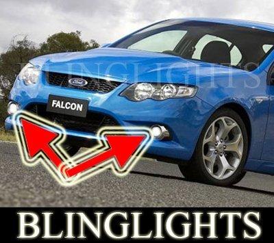 Ford FG Falcon XR Xenon Fog Lamp Driving Light Kit ute sedan