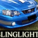 Ford BF Falcon XR6 Xenon Fog Lamp Driving Light Kit sedan utility