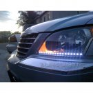 Chrysler Pacifica LED DRL Head Light Strips Day Time Running Lamps