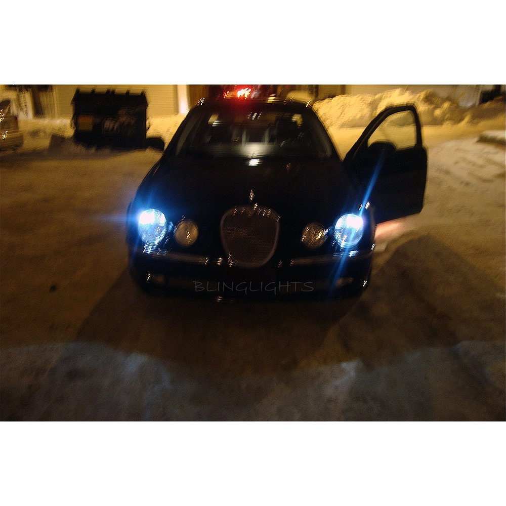 Jaguar S-Type Replacement HID Light Bulbs Pair for OEM Xenon Headlamps Headlights Head Lamps Lights