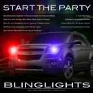 Chevrolet Chevy Equinox Police Strobes for Headlamps Headlights Head Lamps Lights Strobe Light Kit