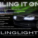 Chrysler 200 LED LED DRL Head Light Strips Day Time Running Lamp Kit