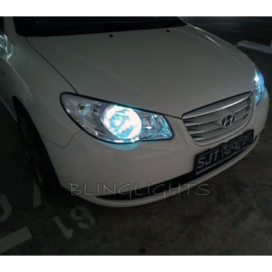 Kia Picano Bright White Light Replacement Bulbs for Headlamps Headlights Head Lamps Lights
