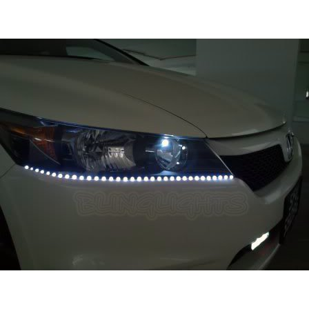 Honda Stream LED DRL Light Strips for Headlamps Headlights Head Lamps Day Time Running Lights DRLs