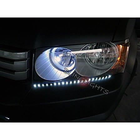 Honda Crossroad LED DRL Light Strips Headlamps Headlights Head Lamps Day Time Running Lights DRLs