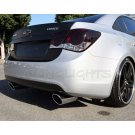 Holden Cruze Tinted Smoked Taillamps Taillights Overlays Film Protection