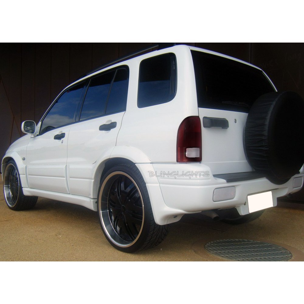 Suzuki XL7 XL-7 Tint Smoke Protection Overlays Film Taillamps Taillights Tail Lamps Tinted Lights