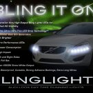 Volvo V60 LED DRL Light Strips for Headlamps Headlights Head Lamps Day Time Running Strip Lights