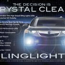 2009-2012 Honda Accord Euro LED Foglamps Drivinglights Fog Lamps Driving Lights Kit (Japanese Spec)