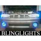 1995 1996 1997 1998 1999 Subaru Outback White Halo Fog Lamps Lights