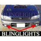 1995 1996 1997 1998 1999 Subaru Outback Sport Xenon Foglamps Foglights Fog Lamps Driving Lights Kit