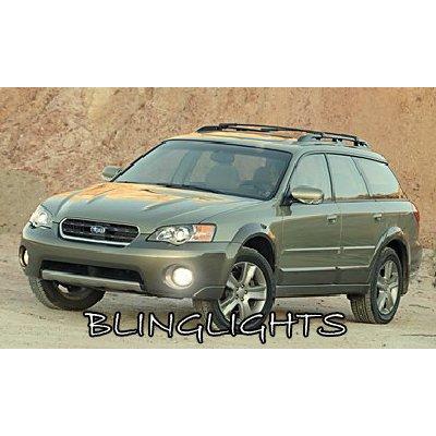 2005 2006 2007 2008 2009 Subaru Outback Halo Foglamps Angel Eye Fog Lamps Driving Lights Kit