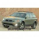 2005 2006 2007 2008 2009 Subaru Outback White Halo Fog Lamp Light Kit