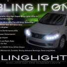 Nissan Versa LED DRL Head Lamp Light Strips Day Time Running Kit