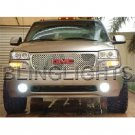 2002-2007 GMC Sierra Halo Fog Lamp Driving Light Kit GMT800