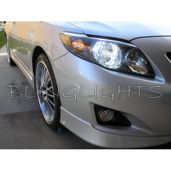 Toyota Corolla Bright White Upgrade Light Bulbs for Headlamps Headlights Head Lamps Lights