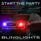 GMC Acadia Police Strobes Pursuit Lights for Headlamps Headlights Head Lamps Strobe Light Kit
