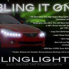 Toyota Camry Solara LED Head Light Strips DRL Lamp Kit Day Time Running
