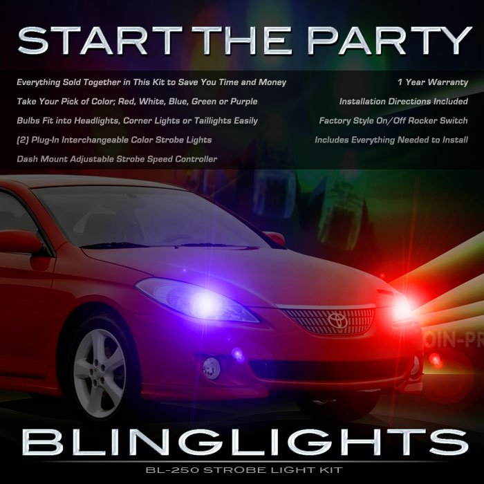 Toyota Solara Strobe Light Kit for Head and Tail Lamps