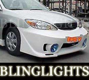 2002 2003 2004 2005 2006 Toyota Camry Junbug Body Kit Fog Lamps Bumper Foglamps Driving Lights