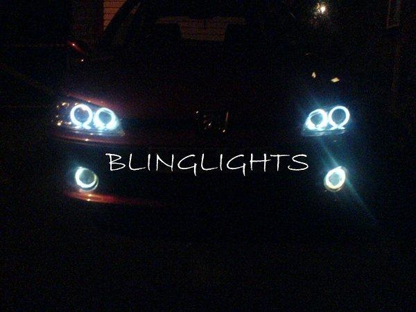 Peugeot 207 Halo Foglamps Angel Eye Fog Lamps Driving Lights Foglights Kit