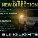 Fiat Sedici LEDs Side Mirror Turnsignals Accents Lights Mirrors Turn Signals Markers Lamps Signalers
