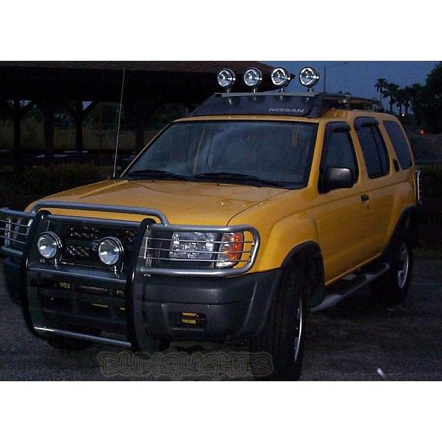 Nissan Xterra Offroad Aux Bar Lamps Driving Lights Off Road Auxilliary Lighting 4x4 Lamp Light Kit
