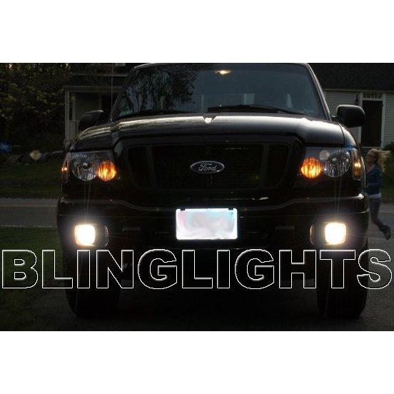 2004 2005 Ford Ranger Blue Angel Eye Halo Fog Lamp Light Kit