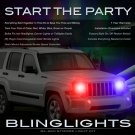 Jeep Liberty KJ KK Head or Tail Lamps Xenon Strobe Light Kit