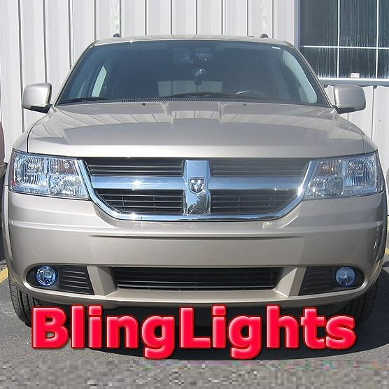 2009 2010 Dodge Journey Fog Lamps Driving Lights Kit