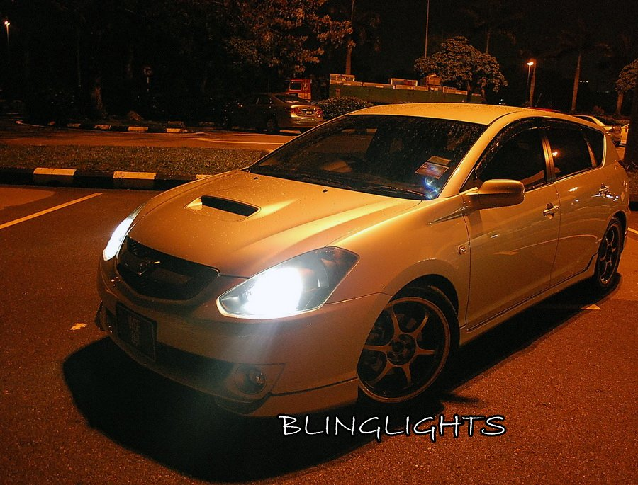 Toyota Caldina Bright White Replacement Light Bulbs for Headlamps Headlights Head Lamps Lights