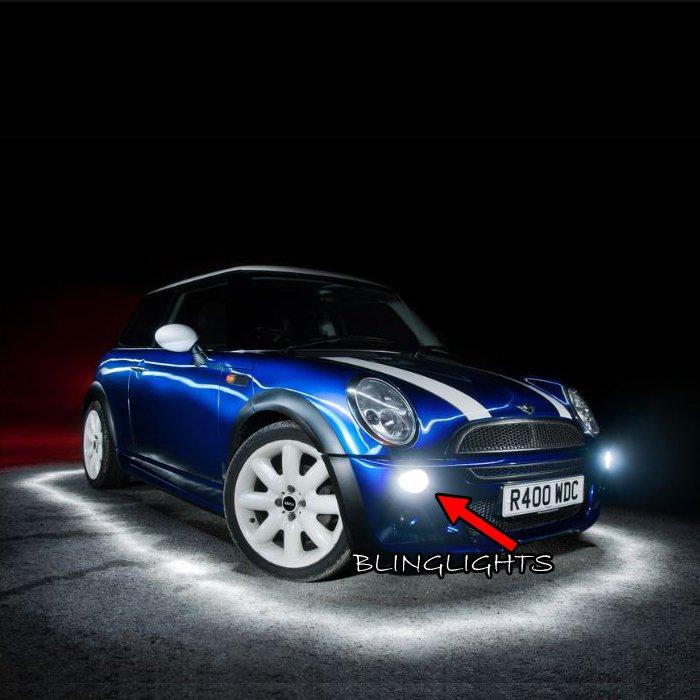 2001-2006 Mini Cooper R50 Hardtop Xenon Fog Light Driving Lamp Kit