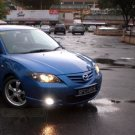 2004 2005 2006 Mazda3 Mazda 3 SP23 BK Series 1 Halo Fog Lamps Angel Eye Driving Lights Foglamps Kit