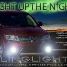 2011-2018 Dodge Journey Xenon Halogen Fog Lamps Driving Lights Kit