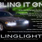 2003 2004 Mercury Marauder LED DRL Light Strips for Headlamps Headlights Head Lamps Strip Lights