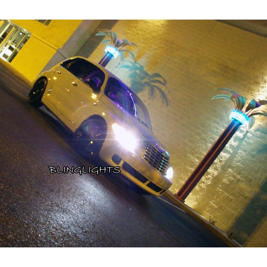 2001-2010 Chrysler PT Cruiser Bright White Light Bulbs Replacement Upgrade for Headlamps Headlights