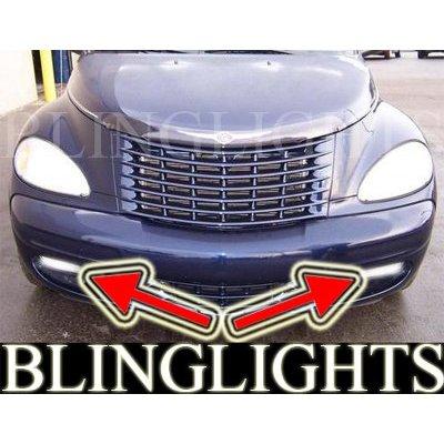 2001 2002 2003 2004 2005 Chrysler PT Cruiser Xenon Fog Lamps Driving Lights Foglamps Foglights Kit