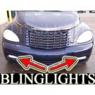 2001 2002 2003 2004 2005 Chrysler PT Cruiser Xenon Fog Lamps Driving Lights Foglamps Foglights Kit