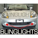 2003 2004 2005 Toyota MR2 Spyder Halo Fog Lamps Angel Eye Driving Lights Foglamps Foglights Kit