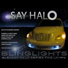 2006 2007 2008 2009 2010 Chrysler PT Cruiser Halo Fog Lamps Angel Eye Driving Lights Foglamps Kit
