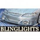 1994-2002 Honda Accord AIT VIS Racing Evo Style Body Kit Fog Lamps Bumper Driving Lights Foglamps