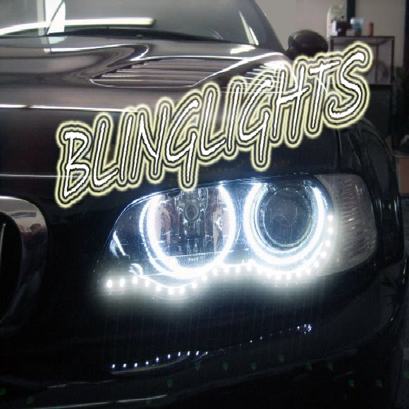 2001 2002 2003 2004 2005 2006 2007 BMW 320i 320Ci LED DRL Lamps Strips Day Time Running Strip Lights