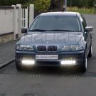1998 1999 2000 BMW 328i 328Ci LED Day Time Running Strip Lights Headlamps Headlights Head Lamps DRLs